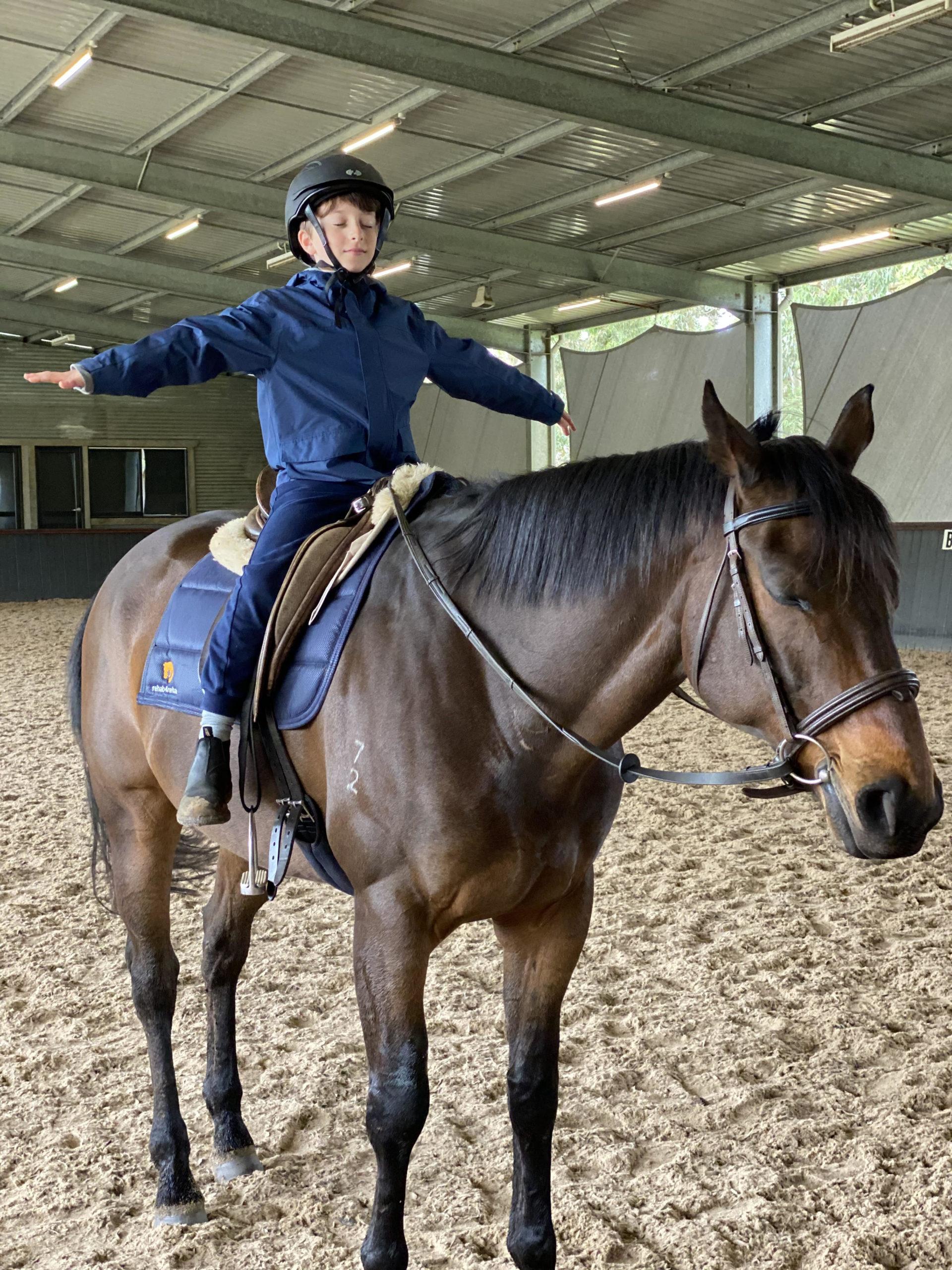 Con the horse