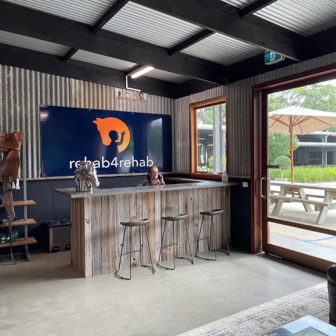Rehab4Rehab front reception